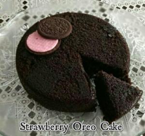 strawberry oreo cake recipe