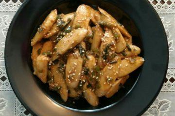 honey chilli sausage