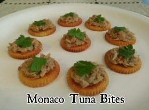 monaco tuna bites
