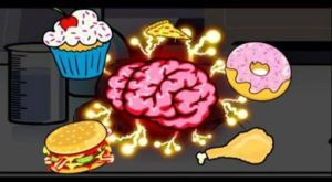 dumbness from eating junk food