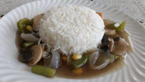 stewed rice