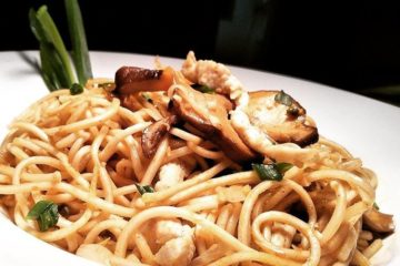 PAN FRIED NOODLES MANDARIN STYLE